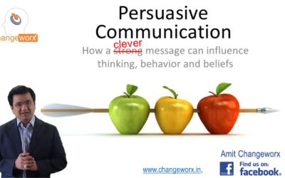 Advance Persuasion Language: The power of conjunction words