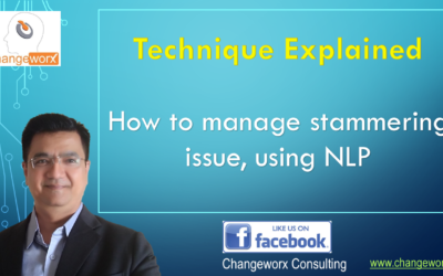 Curing stammering issue using NLP